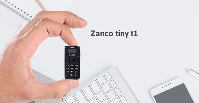 Zanco tiny t1 – Das kleinste Handy der Welt